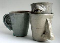 78+ images about Pottery Mugs on Pinterest | Porcelain mugs, Dr ...