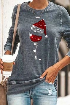Christmas Wine, Christmas Shirts, Christmas Outfits, Womens Christmas, Classy Christmas, Christmas Clothing, Holiday Clothes, Christmas Pajamas, Christmas Design