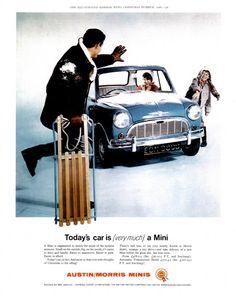 Austin/Morris Mini Ad, 1966