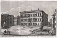 Etching 21.50 x 34 cm on plate edge. On large page of thick paper of 32.50 x 46 cm. Guiseppe Vasi (1710-1782) Guiseppe Vasi (1710-1782) Known for his collection of view of the old and modern Rome. Tutor of Piranesi. Famous etcher of monumental plates showing sites in and near Rome. Piranesi was a pupil of Vasi and possibly cooperated on some etchings of this group as some of this series are signed by both. Some doubt that fact and point towards a commercial move by Vasi by mentioning the…