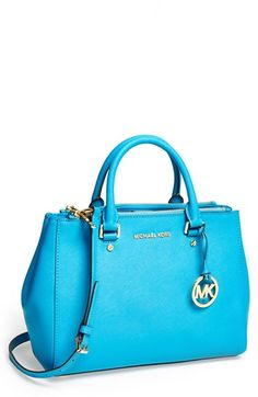 MICHAEL Michael Kors 'Dressy - Medium' Saffiano Leather Tote available at #Nordstrom $328