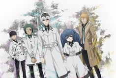 """After waiting for so long, Tokyo Ghoul is finally back with a third season this Spring. And as expected from the series, """"Tokyo Ghoul: re"""" doesn't start slow. It's filled with impressive fighting scenes and blood spill right from the first episode!"""
