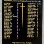 Odhalenie pamätnej padlým vojakom 1.svetovej vojny