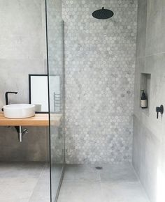 small bathroom storage ideasiscategorically important for your home. Whether you pick the diy bathroom remodel ideas or small bathroom storage ideas, you will make the best wayfair bathroom for your own life. Bathroom Design Small, Bathroom Interior Design, Modern Bathroom, Bathroom Grey, Small Bathroom With Bath, Master Bathroom, Small Grey Bathrooms, Small Bathroom With Shower, Modern Shower