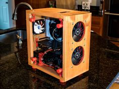 Timber Case: Wooden 3D Printed PC Case