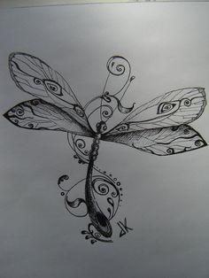 Image detail for -Dragonfly Tattoo Designs Pictures 2 Dragonfly tattoo design, art . Dragonfly Drawing, Dragonfly Tattoo Design, Dragonfly Art, Tattoo Designs, Dragonfly Symbolism, Dragonfly Painting, Butterfly Mandala, Tattoo Main, I Tattoo