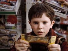 Still of Freddie Highmore in Charlie and th Chocolate Factory (2005)