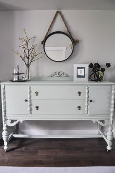 Painted Dining Room Buffet in Fusion Inglenook-2