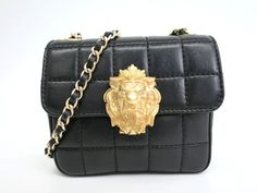 #CHANEL Single Flap Shoulder Bag Lion Chocolate Bar Lambskin (BF082004). Authenticity guaranteed, free shipping worldwide & 14 days return policy. Shop more #preloved brand items at #eLADY: http://global.elady.com