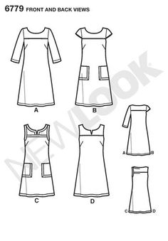 Simplicity - New Look Dress Pattern 6779