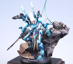 Warhammer 40K Golden Demon Eldar Wraithlord