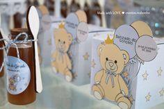 Batizado | Ursinho  Lembranças | Pote com mel baptism decoration // party decorations ideas // little bear