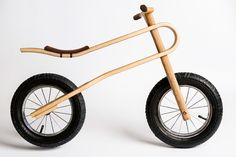 zumzum bike's natural suspension design helps kids learn balance