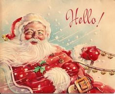 Get your hands on a customizable Vintage Santa Claus postcard from Zazzle. Find a large selection of sizes and shapes for your postcard needs! Vintage Christmas Images, Old Christmas, Old Fashioned Christmas, Retro Christmas, Vintage Holiday, Christmas Pictures, Christmas Greetings, Father Christmas, Christmas Holidays