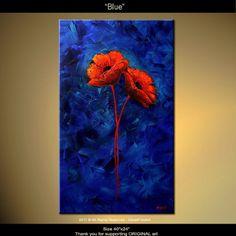 Osnat Fine Art Canadian Artist etsy.com Beautiful acrylic painting