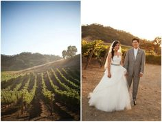 Wine country #weddings are always popular, but particularly for 2014 summer weddings.