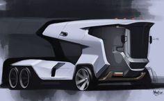 Ideas Food Truck Design Piaggio Ape For 2019 Car Design Sketch, Car Sketch, Semi Trucks, Big Trucks, Benne, Future Transportation, Future Trucks, Food Truck Design, Exotic Cars