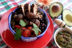 Mexican Bowl #MushroomMakeover #ad @Adriana Martin