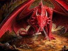 dragón-rojo