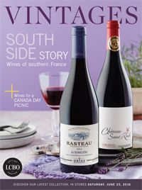 LCBO Wine Picks from VINTAGES Release June 25, 2016