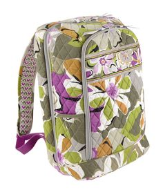 Vera Bradley Laptop Backback in Portobello Road. I have it in Twirly Birds Navy. This backpack is AMAZING! Vera Bradley Laptop Backpack, Laptop Bag, Best Luggage, Luggage Bags, Portobello, Pack Your Bags, New Laptops, Laptop Accessories, Backpacks