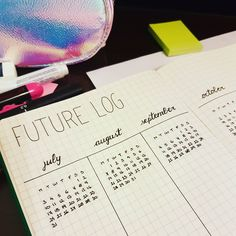 Not really a future log but an astronomy calendar 🔭 . . .  #bulletjournal #planner #planneraddict #plannercommunity #handwriting #writing #notebook #journaling #diary #inspiration #hobby #hobbies #bujo #bulletjournaling #bulletjournalnewbie #planwithme #bulletjournaljunkies #blogger #bujoinspire #moleskine
