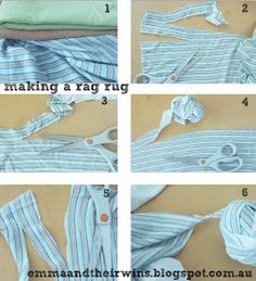 Crochet rag rug how to