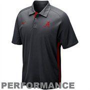 Nike Alabama Crimson Tide Elite Force 2012 Coaches Sideline Performance Polo - Charcoal