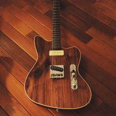 foundryguitars: More Jazzcaster. #abbotsford #cleantone #customguitar #fender #foundryguitars #gearnerds #gearpassion #geartalk #gearwire #gibson #guitar #guitarsdaily #guitarspotter #jazzmaster #knowyourtone #lespaul #lespauljr #mojotones #reverb #sg #strat #stratocaster #tele #telecaster #tonefordays #vsco