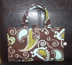 Bible  Covers Brown Aqua Paisley by lisalynnitems on Etsy, $15.00