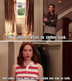 One of my many favourite moments from The Unbreakable Kimmy Schmidt. It hurts so good.