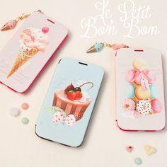 Happymori Le Petit Bonbon Dessert Flip CaseHappyMori specializes in quality cell phone cases designed at the design studio in South Korea. You