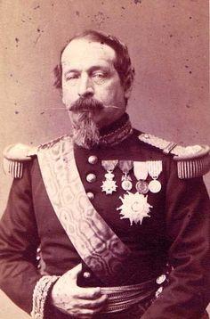 Napoléon III  (1808-1873), empereur des Français de 1852 à 1870..