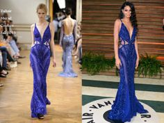 Chanel Iman In Zuhair Murad Couture - Vanity Fair Oscar Party 2014. Re-tweet and favorite it here: https://twitter.com/MyFashBlog/status/440809636346601472/photo/1