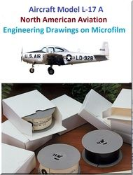 Aircraft Blueprints Engineering Drawings on Microfilm