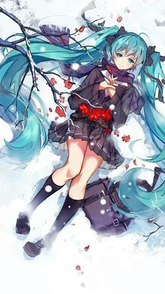 Read Hatsune Miku from the story Anime's Pictures ( Ảnh Anime ) by _Yuzan_ with 68 reads. Anime Chibi, Manga Anime, Kawaii Anime Girl, Anime Art Girl, Manga Girl, Anime Girls, Beautiful Anime Girl, I Love Anime, Vocaloid Characters