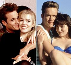 Best TV Love Triangles: Brenda, Dylan and Kelly, Beverly Hills, 90210 Best Tv Shows, Best Shows Ever, Favorite Tv Shows, Jason Priestley, Best Tv Couples, Jennie Garth, The Originals Tv, Shannen Doherty, Luke Perry
