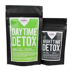 The Teatox Company Provides a Detox Program for Leaner, Cleaner Bodies #tea trendhunter.com