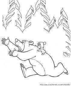 Раскраска Заяц и Белка. Раскраска Зайчик, белочка, рисунки ...