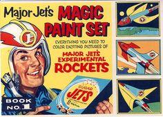 Major Jet's Magic Paint Set