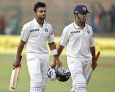 Virat Kohli and Indian skipper MS Dhoni held their nerves in the second innings to register a hard earned victory at M Chinnaswamy stadium in Bangalore today (03-09-12). Virat Kohli unbeaten half century and assistance from MSD helped India to wrap up the test series 2-0.