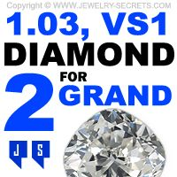 ►► A ONE CARAT DIAMOND FOR JUST TWO GRAND ►► http://www.jewelry-secrets.com/Blog/a-one-carat-diamond-for-just-two-grand/ ►► Jewelry Secrets