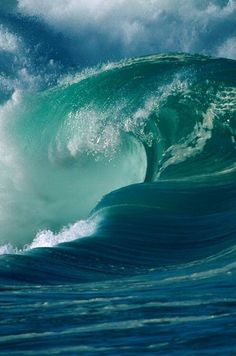 Beautiful waves...