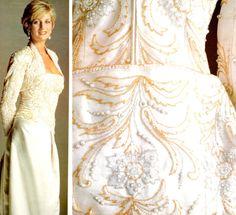 Diana Spencer White Dress | FAIRYTALE IN A BAG: Fashion icon-Princess Diana