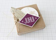 Stampin Up - Anleitung - Tutorial - Box - Umschläge für Geschenkkarten - Schachtel - Verpackung - Stempelset Heiteres Hurra - Goodie - Give Away - Hanuta ☆ Stempelmami