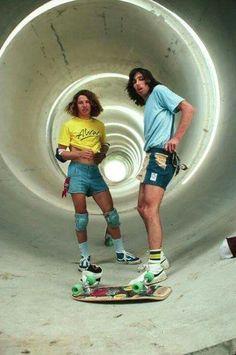 Tony Alva and David Hackett