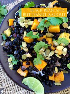 Liv Life: Black Bean and Butternut Squash Ragout