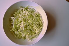 Mama's Lebanese Minted Cabbage Salad -MAMA'S SALATET MALFOUF