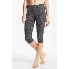 Zella 'Live In' Eclipse Space Dye Capris Womens Black Eclipse Space Dye Size Small Small - product - Product Review
