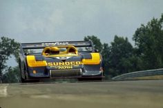 Mark Donohue in a Porsche 917/30, the most powerful sportscar ever built at 1,580 bhp with the boost up for qualifying.